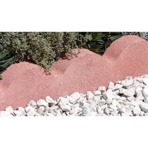 Stylish Stone Scalloped Edging 600mm - Red