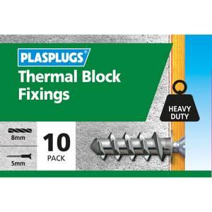 Plasplugs Thermal Block Fixings