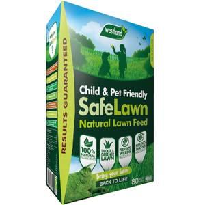 Westland Safe Lawn Natural Lawn Feed - 80m2