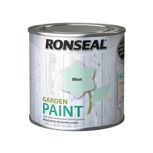 Ronseal Garden Paint 250ml - Mint