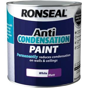 Ronseal Anti Condensation Paint White - 2.5L