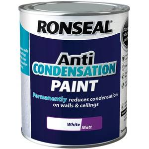 Ronseal Anti Condensation Paint White - 750ml
