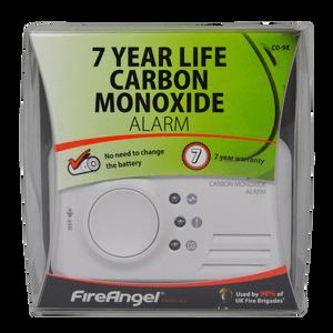 FireAngel Carbon Monoxide Alarm 7 Year Life