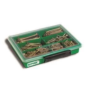 Screws Assortment Pack 245 Piece Spax