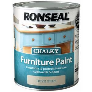 Ronseal Chalk Paint Dove Grey - 750ml