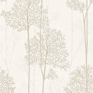 Superfresco Easy Paste the Wall Eternal Wallpaper - Cream & Gold
