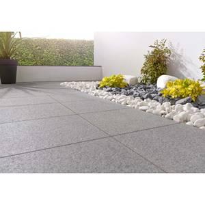 Stylish Stone Granite Paving 400 x 400mm - Dark Grey (Full Pack)