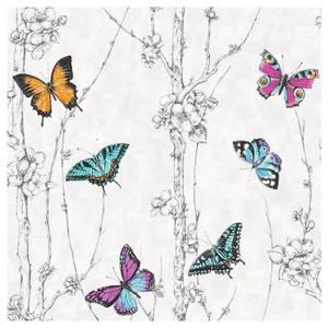 Fresco Flutter Forest Multicoloured Wallpaper