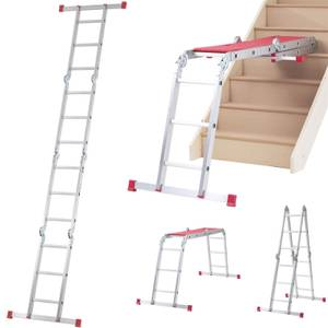 Werner Multi-Purpose Ladder 12 in 1 with Platform