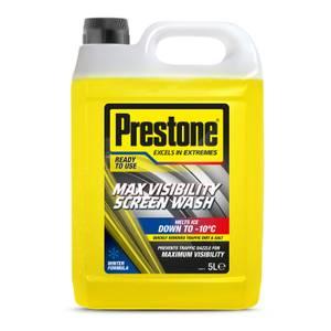 Prestone Maximum Visibility Screen Wash Winter 5L