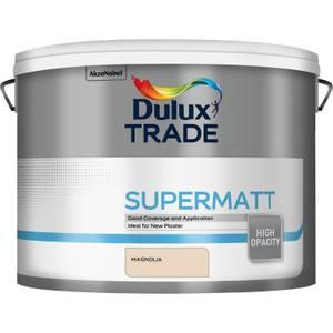 Dulux Trade Supermatt Paint Magnolia - 10L