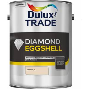 Dulux Trade Diamond Eggshell Magnolia - 5L