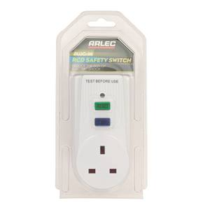 Arlec RCD Breaker Safety Switch White