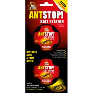Home Defence Ant Stop! Bait Station Ant Traps (Pack of 2)