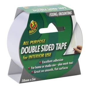 Duck Double Sided Tape - 38mm x 5m