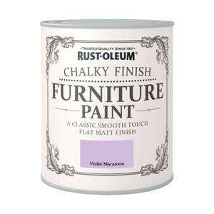 Rust-Oleum Chalky Furniture Paint - Violet Macaroon - 750ml