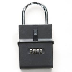 Sandleford Portable Key Storage Safe - Grey - 95 x 75 x 25mm