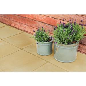 Stylish Stone Hereford Paving Smooth 450 x 450mm - Gold