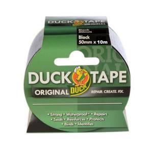 Duck Original Tape Black - 50m x 10m