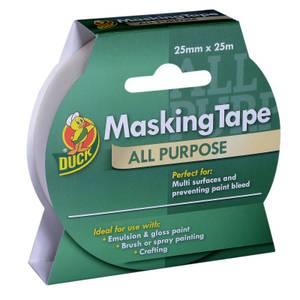 Duck All Purpose Masking Tape - 25mm x 25m