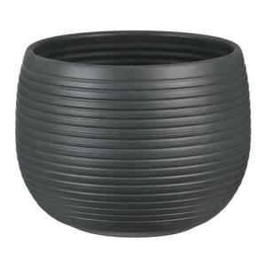 Plant Pot - Graphite Stone - 18cm