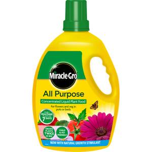 Miracle-Gro All Purpose Concentrated Liquid Plant Food - 2.5L