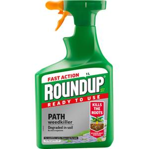 Roundup Path & Drive Ready To Use Weedkiller - 1L