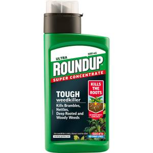 Roundup Tough Concentrate Weedkiller - 500ml