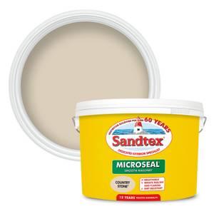 Sandtex Ultra Smooth Masonry Paint - Country Stone - 10L