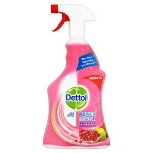 Dettol Power & Fresh Anti Bacterial Trigger Spray Cleaner - Pomegranate