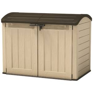 Keter Store it Out Ultra Garden Storage - Beige & Brown - 2000L