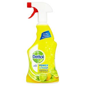 Dettol Power & Fresh Anti Bacterial Trigger 1l - Citrus Zest