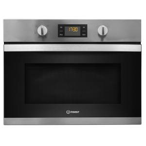 Indesit MWI 3443 IX UK Built-in Microwave - Stainless Steel