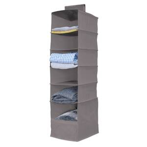 Hanging Storage Organiser - 6 Shelf