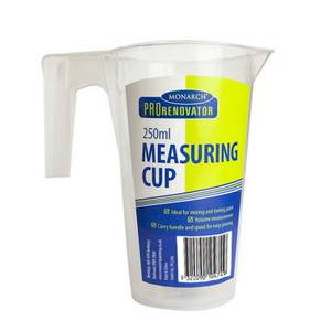 Monarch Pro Renovator Measuring Cup 250ml