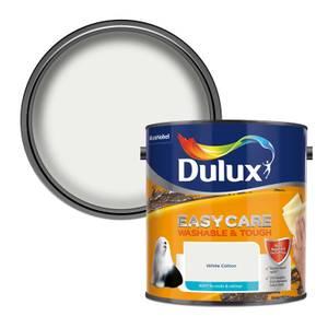 Dulux Easycare Washable & Tough White Cotton - Matt - 2.5L