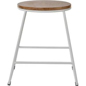 Small Bar Stool - White