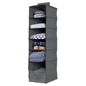 Premium Hanging Storage Organiser - 6 Shelf