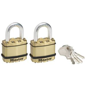 Master Lock Excell Padlock - 45mm - Pack of 2