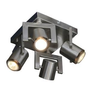 Yorkie 4 Plate Spotlight - Satin Nickel