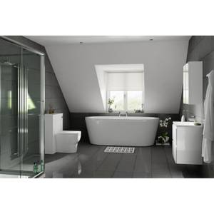 Breeze Anthracite Polished Porcelain Wall & Floor Tile