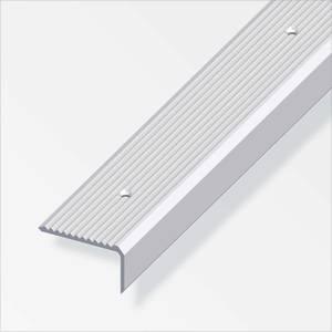 Rothley Step Edging Profile - Aluminium - 41 x 23 x 2000mm