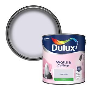 Dulux Violet White - Silk Emulsion Paint - 2.5L