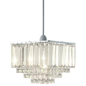 Belgrave Crystal Easy Fit Light Shade - Chrome
