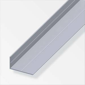 Aluminium Unequal Angle Combitech Profile - 2.5m x 11.5 x 19.5mm