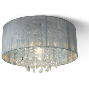 Whitworth Pendant Light with Glass Droplets