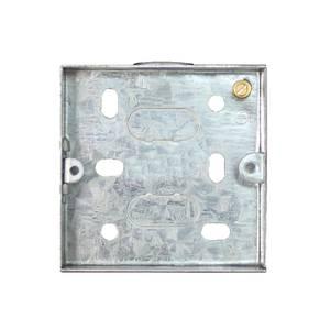 Arlec 1 Gang Metal Box 16mm