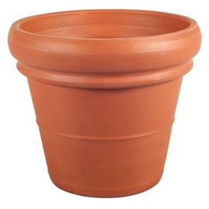 Terracotta Double Rim Pot - 35cm