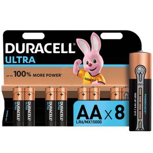 Duracell Ultra AA Batteries - 8 Pack