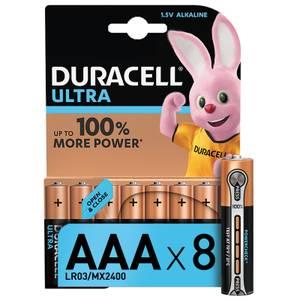 Duracell Ultra AAA Batteries - 8 Pack